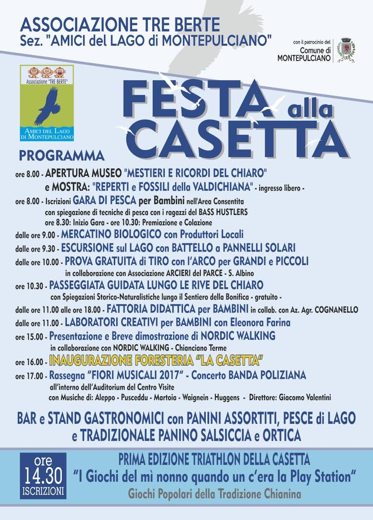 Festa alla Casetta - Programma