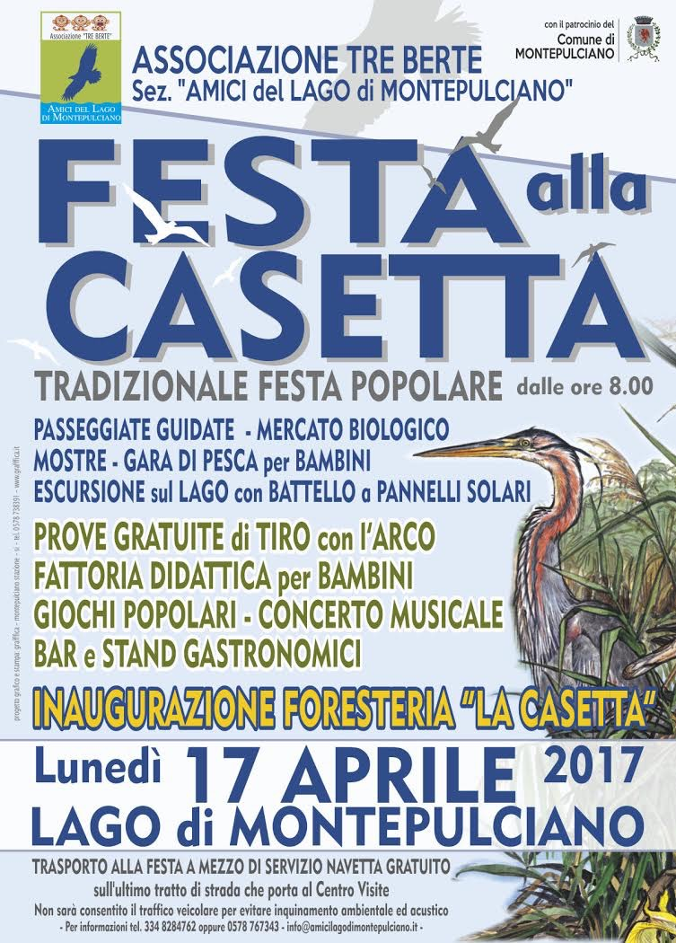 Festa alla Casetta - lunedì 17 aprile 2017